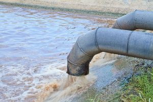 Read more about the article Failed sewer line leads to discharge in river