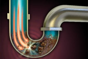 Unclogging a drain without harsh chemicals