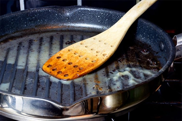 Make sure you properly disposal of grease and fats during your holiday cooking