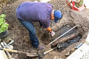 Sewer repair job uncovers startling discovery