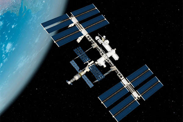 Even in space clogged toilets are a problem