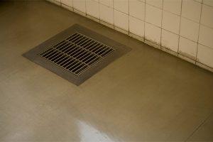 Backed up floor drains flood fast food restaurant